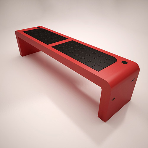 solar bench EHC-ISB-01-2